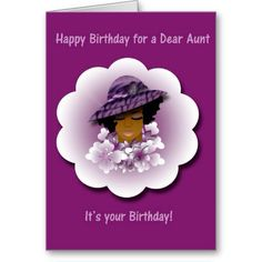 [ Greeting Cards Awesome Card For Happy Birthday Dear Aunt ] - Best Free Home Design Idea & Inspiration Happy Birthday Dear, It's Your Birthday, Custom Greeting Cards, Cool Cards, Thoughtful Gifts, Paper Texture, Awesome, Prints, Inspirational
