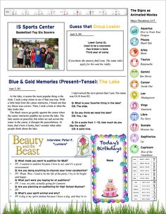 July 10, 2015 Newsletter Part 2
