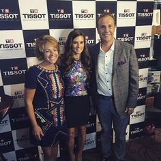 """Happy #Brickyard400 day, #Indy! We had a great time celebrating with @danicapatrick & @tissot_official last night. Here's to a safe & exciting race day!…"""