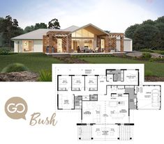 I love this master bath/bed layout! Country House Plans, Dream House Plans, Modern House Plans, House Floor Plans, My Dream Home, Bungalows, Villa, Home Design Floor Plans, Apartment Plans