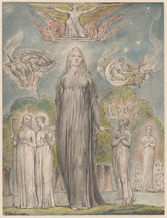 William Blake | Melancholy | Drawings Online | The Morgan Library & Museum