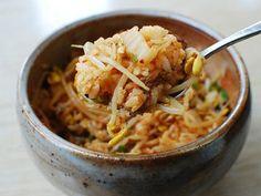 Kongnamul Bap (Soybean Sprout Rice Bowl)   Korean Food Gallery – Discover Korean Food Recipes and Inspiring Food Photos