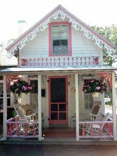 Dreamz~n~Wishz : Cute Little Pink Cottages