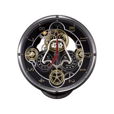 RHYTM WALL CLOCK STAR WARS  KARAKURI CLOCK PREMIUM BLACK 4MN547MC02 #RhythmClock #ArtDeco