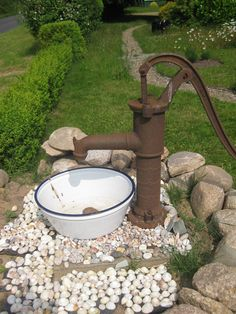 Pumpe mit Muscheln
