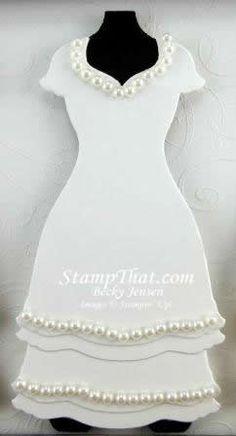Stampin' Up! Dress Up Framelit Die Formal Dress Ideas