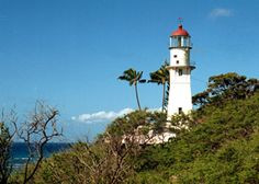 Lighthouse at Diamond Head, Hawaii
