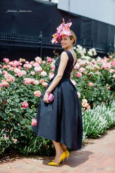 Fashions on the field winner 2015 Melbourne Cup Carnival