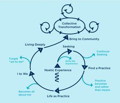 The Noetic Institute's Consciousness Transformation model: http://noetic.org/research/transformation_model/