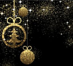 Golden christmas ball with black background vector 05 - https://www.welovesolo.com/golden-christmas-ball-with-black-background-vector-05/?utm_source=PN&utm_medium=welovesolo59%40gmail.com&utm_campaign=SNAP%2Bfrom%2BWeLoveSoLo