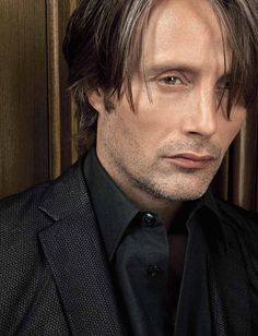 Mads Mikkelsen photo by Philippe Garcia. I'd like to bite on that lip!!