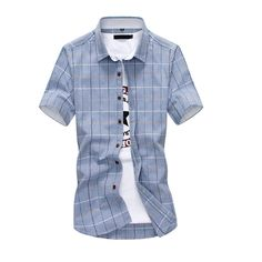 Cheap men slim shirt, Buy Quality short sleeve shirt directly from China men  short sleeve shirt Suppliers: New Summer style men short sleeve shirt high  ...