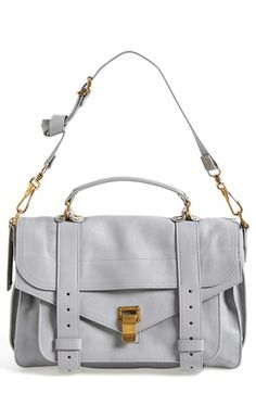 Proenza Schouler 'Medium PS1' Satchel - love it in this cloud grey color.