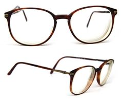 60c022efb6 80s STETSON SIERRA Antique Brass Tortoise Shell Keyhole Classic Club Master  Player Nerd Prescription Eyewear for Men or Women ZYLOWARE. Mens Glasses ...