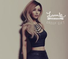 Hey everyone! I want to start sending notices through my old in-world group again. I also want to start providing all the members with group gifts every month. I hope you join up to get your hands on this hair and futures gifts! Just drop by my store and subscribe. Enjoy!  ♥ Lamb  slurl.com/secondlife/Lula/107/105/34/?title=lamb