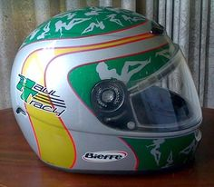 Paul Tracy Indy 500 Racing Helmet  #paultracy #helmet #indy500 #motorracing #usa #american #unitedstatesofamerica