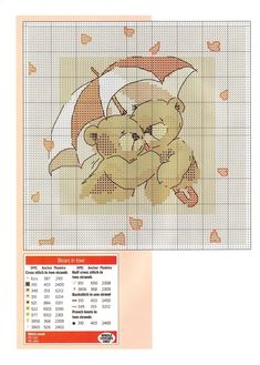 Cross Stitch *@* Bears