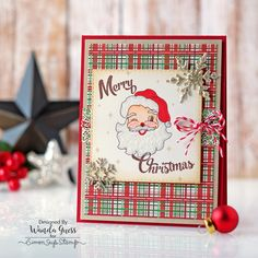 Simon Says Stamp Holiday 2016 Card Kit! Project by Wanda Guess