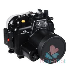 130ft Underwater 40m Waterproof Housing Case Cover 7 in 1 for Canon EOS 70D #MeiKon