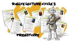 Rallye Lecture C3 : La préhistoire - Bout de gomme