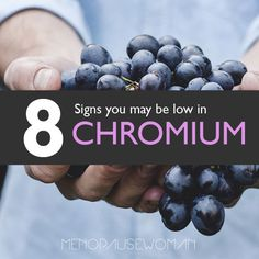What is chromium? It's a mineral that helps control blood sugar, high cholesterol and more. It can make you lose your shine. Read on for more information.