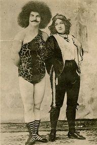 1915 circus trainer, strongman
