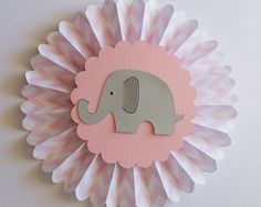 Pink And Gray Elephant Baby Shower Centerpiece by AllDiaperCakes Baby Girl Elephant, Elephant Birthday, Elephant Baby Showers, Elephant Baby Shower Centerpieces, Girl Baby Shower Decorations, Baby Shower Themes, Shower Ideas, Grey Baby Shower, Baby Boy Shower