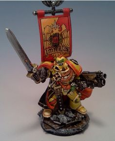 Imperial Fists Space Marine Commander
