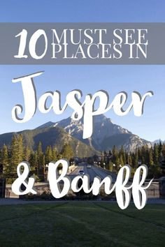 updated 2019 No trip to Canada is complete without experiencing the Canadian Rockies in Jasper National Park and Banff National Park. Here are the best places to stop along the Icefields Parkway and beyond. Banff Alberta, Alberta Canada, Alberta Travel, Jasper Alberta, Jasper Canada, Jasper Bc, Calgary, Canadian Travel, Canadian Rockies
