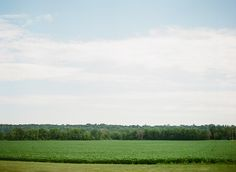 open fields and countryside at Mayowood Stone Barn in Rochester Minnesota | Photo: Laura Ivanova Photography