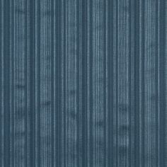 Dark Blue and Light Blue Small Silky Stripe Damask Upholstery Fabric