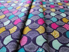 """Cloud9 Fabrics """"KOI Voile"""" Scalloped Edge"""