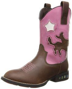 Pick SZ//Color. Roper Girls Daisy Heart Western Boot