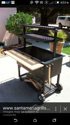 Santa maria style bbq grill