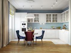 Кухня в стиле современной классики