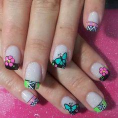 . Chevron Nails, Nail Designs, Nail Art, Beauty, Color, Enamels, Nail Decorations, Nail Manicure, Hair
