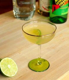 Bar Keeper Margarita: margarita with dry orange Curaçao and Vida Mezcal (smoky rinse)