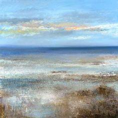 Amanda Hoskin - Evening Sky over Mounts Bay