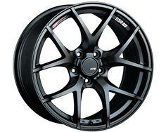 SSR GTV03 Wheel Matte Black 17x7.0 5x100 50mm