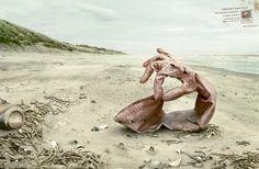 Beach litter, The glove