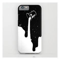 The Big Spill iPhone & iPod Case ($35) ❤ liked on Polyvore featuring accessories, tech accessories and iphone & ipod cases