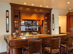 Image detail for -... Mini-bar-at-Modern-Luxury-Ranch-Style-Home-bar – Home New Decorating