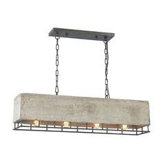 Elk Lighting Brocca 14323 4 Chandelier - 14323 4