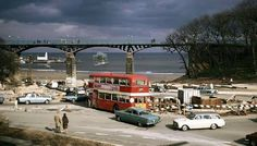 Spa Bridge 1970 -via Old Scarborough Photo Archive. Yorkshire England, North Yorkshire, Scarborough England, Butlins, Lighthouse Keeper, Northern England, Photo Archive, Old Pictures, East Coast