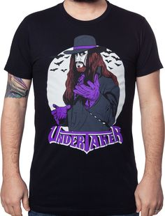 Undertaker Shirt made by Ripple Junction in Wrestling   Department  Adult  Mens   Color  Black a40df0df880