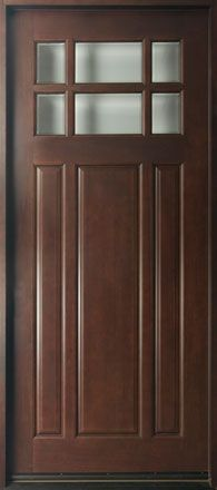 8 foot tall mahogany tiffany arch top double wood entry for Solid wood exterior back doors