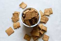 edible perspective - Home - smoked paprika almond pulp crackers