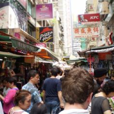 Me wandering the streets of Hong Kong. Yep, it looks cool!
