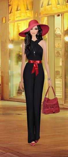 Fashion Dolls, Fashion Art, Fashion Dresses, Womens Fashion, Fashion Design, Express Fashion, Modelos Fashion, Gossip Girl Fashion, Covet Fashion Games
