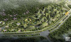 Liuzhou Forest City by Stefano Boeri Architetti, Forest City by Stefano Boeri Architetti, Forest City China, pollution fighting Forest City, Forest City air pollution, urban design Forest City, Liuzhou urban design,